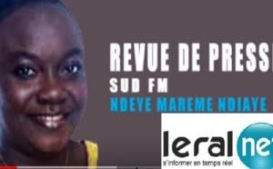 Revue de Presse Sud fm en français du Mercredi 24 Avril 2019 par Ndèye Marème NIAYE