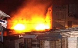 Kaolack : un incendie annoncé au marché central