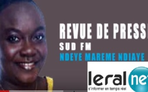 Revue de presse Sud fm en Français du 25 Avril 2019 avec Ndéye M. NDIAYE