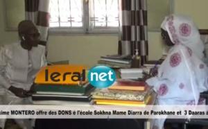 VIDEO - Maxime MONTEIRO offre des dons à l'école SOKHNA MAME DIARRA de POROKHANE et à 3 Daaras A NIORO