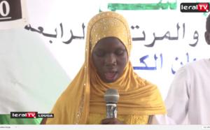 """VIDEO - Louga : En larmes, Sokhna Khady Dramé récite le Coran et émeut le public lors de son """"sargal"""""""
