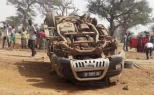 Sédhiou: Un accident fait deux morts onze blessés
