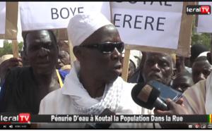 VIDEO - Kaolack: Koutal dans la rue pour dénoncer son calvaire dû au manque d'eau persistant