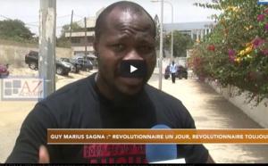 """VIDEO - Guy Marius SAGNA: """"Révolutionnaire un jour, révolutionnaire pour toujours"""""""
