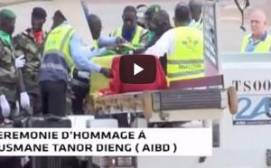 VIDEO - Les premières images de l'arrivée de la dépouille d'Ousmane Tanor Dieng à l'AIBD