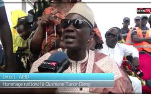 """VIDEO - Bécaye Mbaye à la levée du corps de Tanor Dieng: """"Le Sénégal a perdu un grand..."""""""