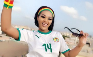 PHOTOS - Supportrice des « Lions », Leina affole la toile