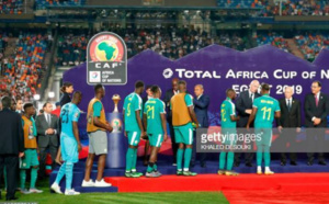 """Finale CAN 2019: Les images des """"Lions"""" après le coup de sifflet final"""