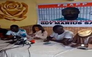 VIDEO - Rassemblement FRAPP: Révélations sur l'arrestation de Guy Marius Sagna
