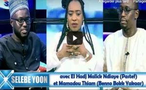 REPLAY WALF  - Selebe Yoon avec El Hadj Malick Ndiaye (Pastef) et Mamadou Thiam (Benno Bokk Yakaar)