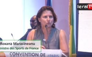 """VIDEO - Roxana Maracineanu, Ministre des Sports en France: """"Le choix du Sénégal est méritoire parce que..."""""""