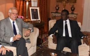 (PHOTOS) - Amadou Bâ et son homologue espagnol lors de la signature d'accord de coopération à l'occasion de la 2e session de consultations politiques