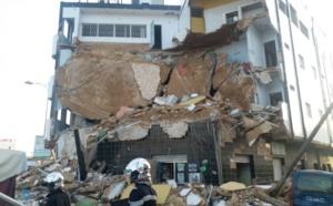 VIDEO - Effondrement spectaculaire d'un immeuble à Touba, le témoin explique et fond en larmes