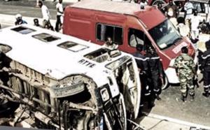 VIDEO - Accident à Keur Mbaye Fall, 15 blessés graves !