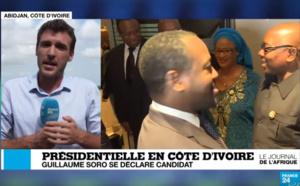 VIDEO-Guillaume Soro se déclare candidat à la Présidentielle en Côte d'Ivoire