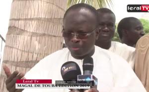 """VIDEO - Magal de Touba 2019: """"Modou Diagne Fada a fait un très bon discours"""""""