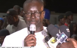 Aliou Sall à Ngourane: Discours de Cheikh D. Seck, président du mouvement Initiative Républicaine (VIDEO)