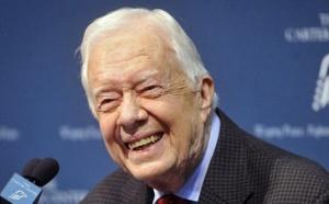 Etats-Unis: L'ex-président Jimmy Carter hospitalisé