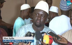 "LOUGA - Mor Sylla (Adjoint au maire): ""La mairie accompagne les guides religieux..."" (VIDEO)"