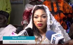 BAPTEME du fils de BALLA GAYE 2 - Les premiers mots de sa femme BOURY BATHILY (VIDEO)