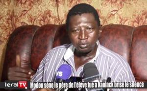 LARMES AUX YEUX - Le père de l'enfant tué à Kaolack brise le silence...... (VIDEO LERAL)