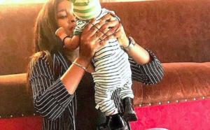 PHOTOS – Khadia Sy, l'épouse de Pape Sidy Fall au top de sa forme après l'accouchement
