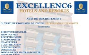 AVIS DE RECRUTEMENT - EXCELLENC6 HOTELS & RESORTS Dakar Ngor Almadies