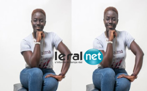Safiétou GUEYE, créatrice de Chenille-Papillon, la 1ére agence de services qui puise son importance dans les nouveaux comportements et manières de vivre.