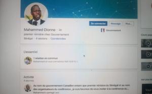 Faux compte de l'ex-Pm sur LinkedIn et facebook: Mahammad Dionne dégage sa responsabilité