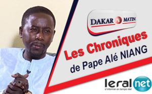 Audio: Chronique de Pape Alé Niang du 22 janvier 2020