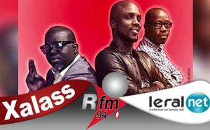 Xalass – Rfm du Mercredi 22 Janvier 2020 avec Mamadou Mouhamed Ndiaye, Ndoye Bane et Aba no Stress