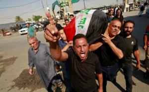 Plusieurs morts dans le démantèlement de sit-in en Irak
