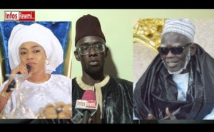 "VIDEO - Serigne Abdou Lahad ne rate pas Sokhna Aïda Diallo: ""Respecté woul Serigne Mountakha"""