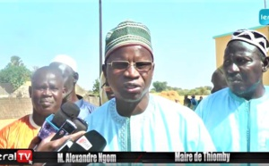 VIDEO - Le Maire Alexandre Ngom à l'inauguration du nouveau complexe islamique de Thiomby