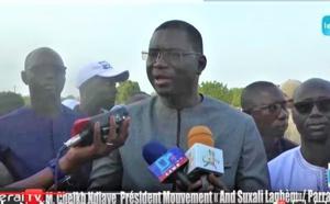 """VIDEO - Finale du tournoi inter-zonal du Laghem: Coupe M. Cheikh Ndiaye (Président du Mouvement """"And Suxali..."""""""