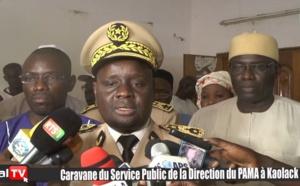 VIDEO / Rénovation du service public  - Caravane du PAMA à Kaolack (Gouverneur Alioune B. Mbengue)
