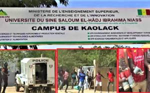 KAOLACK - Les étudiants de l'Université du Sine Saloum décrète une grève illimitée et menace de... (VIDEO)