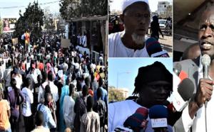 """VIDEO - Marche """"Nio Lank"""" pour la libération de Guy M. Sagna: """"Nagnou bayi di teudj domou diambour yi... Macky louko fi déssé bariwoul..."""""""