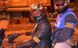 [Photos] Couvre-feu : Le Commissaire de la Médina et ses éléments en action....