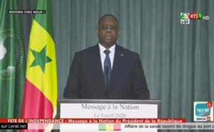 (🔴LIVE)  Mesures Sociales Urgentes, déclaration du Président Macky Sall