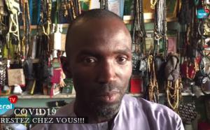 """VIDEO - Coronavirus / Couvre-feu à Touba: Les commerçants se confient: """"Liggéy bi dokhatoul amougnou clients"""""""