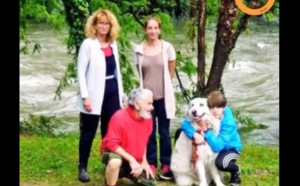 Pour sauver son chien, cet adolescent n'a pas hésité à mettre sa vie en péril !