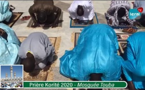 TOUBA: Revivez la prière de la Korité 2020 à la Grande mosquée (Vidéo)