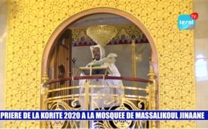 REVIVEZ EN INTEGRALITE LA PRIERE DE LA KORITE A MASSALIKOUL DJINANE - LERAL TV