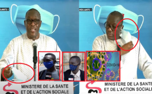 "VIDEO - ""Masques yi dangaye étoufé, aroul kéne, ministre bi dafa wara...."""