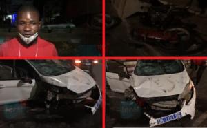 Urgent! Couvre-feu / Grave accident sur la VDN: Un véhicule écrase entièrement une moto