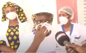 Vidéo- Arrivée des enseignants: Des agents du district sanitaire de Louga accueillent et sensibilisent les éducateurs