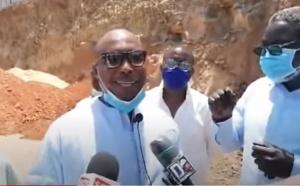 Bradage du littoral: la descente sur les lieux de Barthélémy Dias (Vidéo)