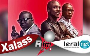 Xalass de RFM du mercredi 03 juin 2020 avec Mamadou Mouhamed Ndiaye, Abbas No Stress et Ndoye Bane