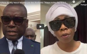 """Vidéo - La place de Aby Ndour envahie: """"C'est Atépa qui a payé des étudiants, des tailleurs de pierre qui sont en train de..."""""""